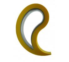 Фиксатор - стоппер для окон и дверей Stoppy Den Braven желтый