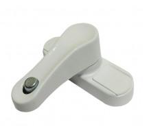Универсальный замок безопасности с кнопкой белый