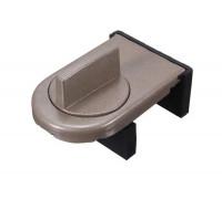 Фиксатор блокиратор для раздвижных окон и дверей SW-Lock светло-коричневый