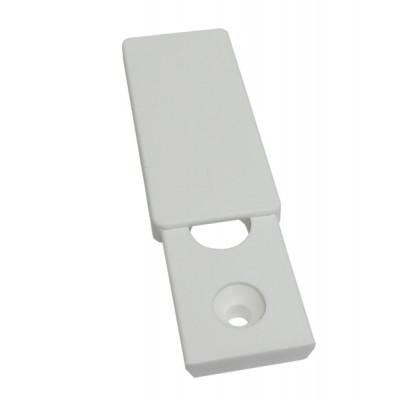 Сдвижная розетка - заглушка на отверстие для оконной ручки