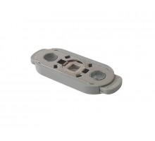 Блокирующее устройство HOPPE KISI под розетку оконной ручки, цвет серый