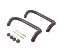 Ручка-скоба Fural для входной двери, 250мм, цвет коричневый
