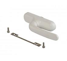 Ручка для алюминиевых окон PRIMA с блокиратором, цвет белый