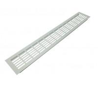 Вентиляционная решетка SETE для подоконника 480*80 мм белая