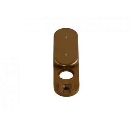 Розетка - заглушка на окно Rotoline, цвет бронзовый