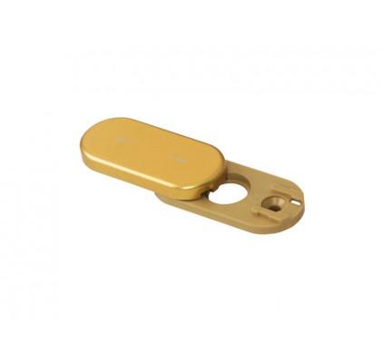 Розетка заглушка на окно Rotoline, цвет золото матовое