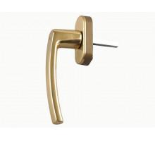 Ручка Rotoline 35мм полированная латунь/охра золото, с логотипом Roto