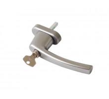 Ручка Rotoline с ключом 35мм, цвет серебро