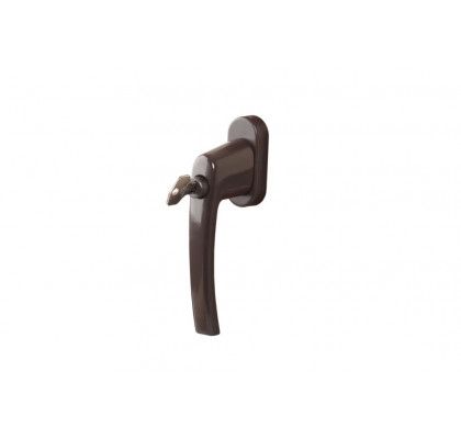 Ручка Rotoline с ключом без логотипа 35мм, цвет коричневый