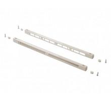 Комплект c контролем потока воздуха: клапан вентиляционный SM Tip Vent + козырек наружный Press, 9-35 m3/ч, белый