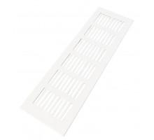 Решетка вентиляционная 250x80 мм белая, алюминий