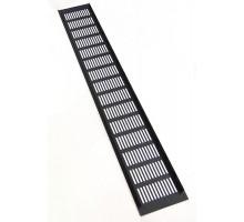 Вентиляционная решетка 600*100 мм алюминий черная