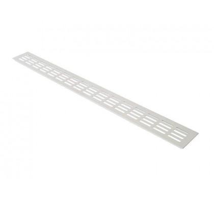 Вентиляционная решетка Bauset для подоконника 800 /80 мм белая