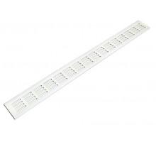 Решетка для подоконника 800х100 мм белая