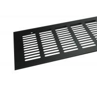Вентиляционная решетка для подоконника Tundra 600*100 мм черная