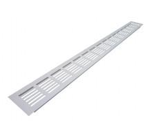 Решетка вентиляционная для подоконника 80х800 мм белая Bauset