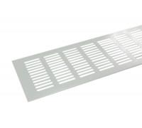Вентиляционная решетка для подоконника 800*100 мм, алюминий, цвет белый