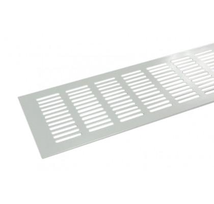 Вентиляционная решетка 600*100 мм алюминий белая