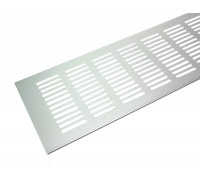 Вентиляционная решетка для подоконника Tundra 1000*100 мм светло-серебристая