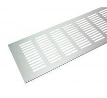 Вентиляционная решетка для подоконника Tundra 500*100 мм светло-серебристая