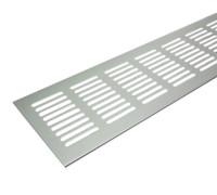 Решетка для подоконника Tundra 1000х80 мм светло-серебристая