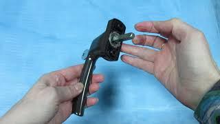 Ручка оконная с ключом Maco Рапсодия